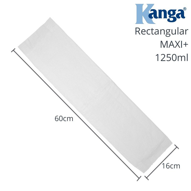 Kanga® Classic Disposable Rectangular Incontinence Pads | Maxi+