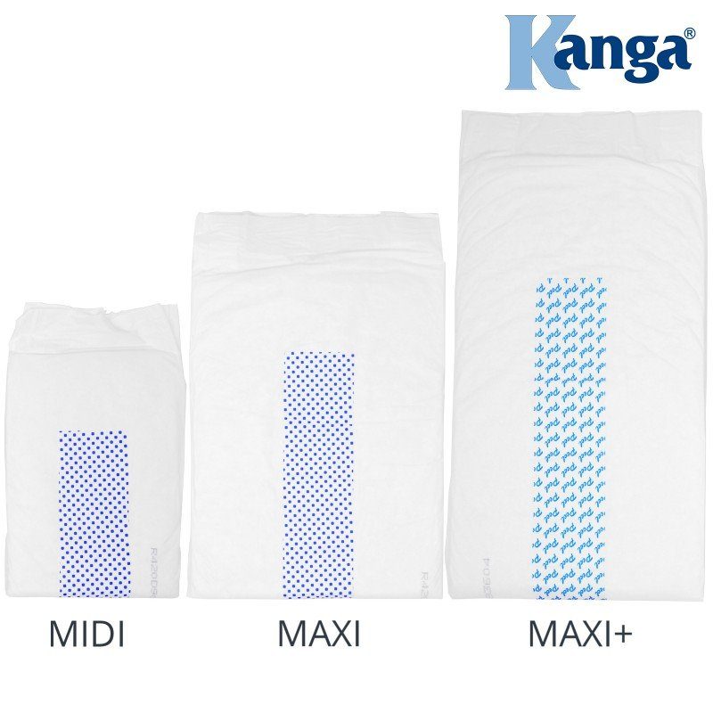 Kanga® Classic Disposable Rectangular Incontinence Pads | Maxi