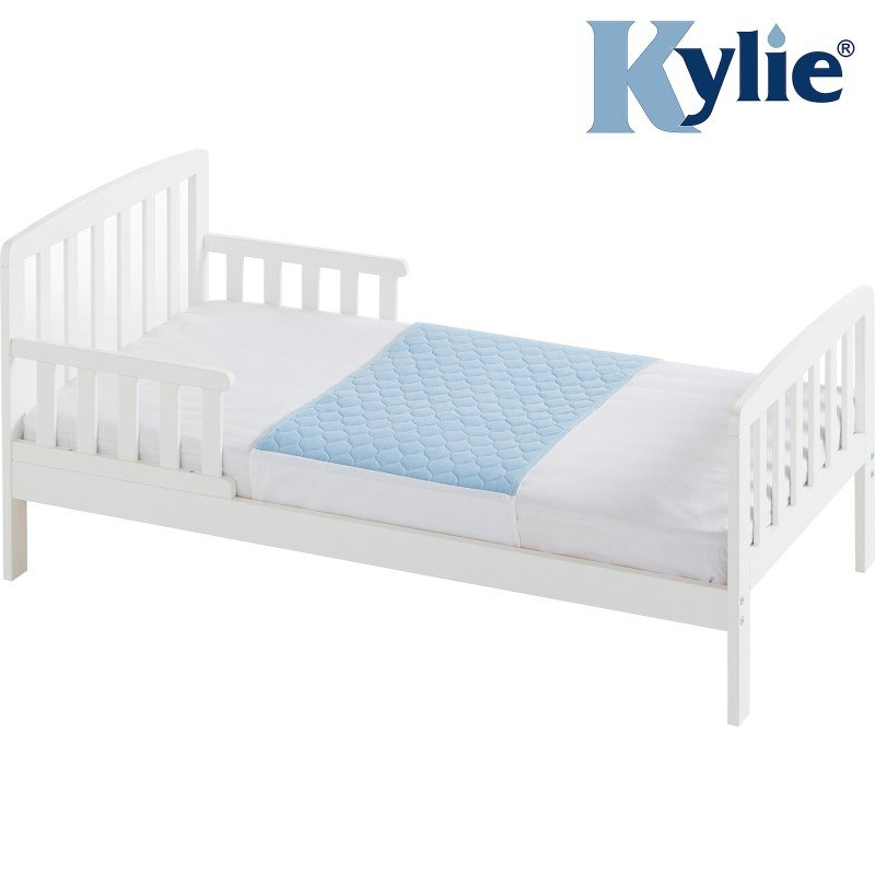 Kylie® Bed Pad | 1 Litre | Junior Bed | Blue