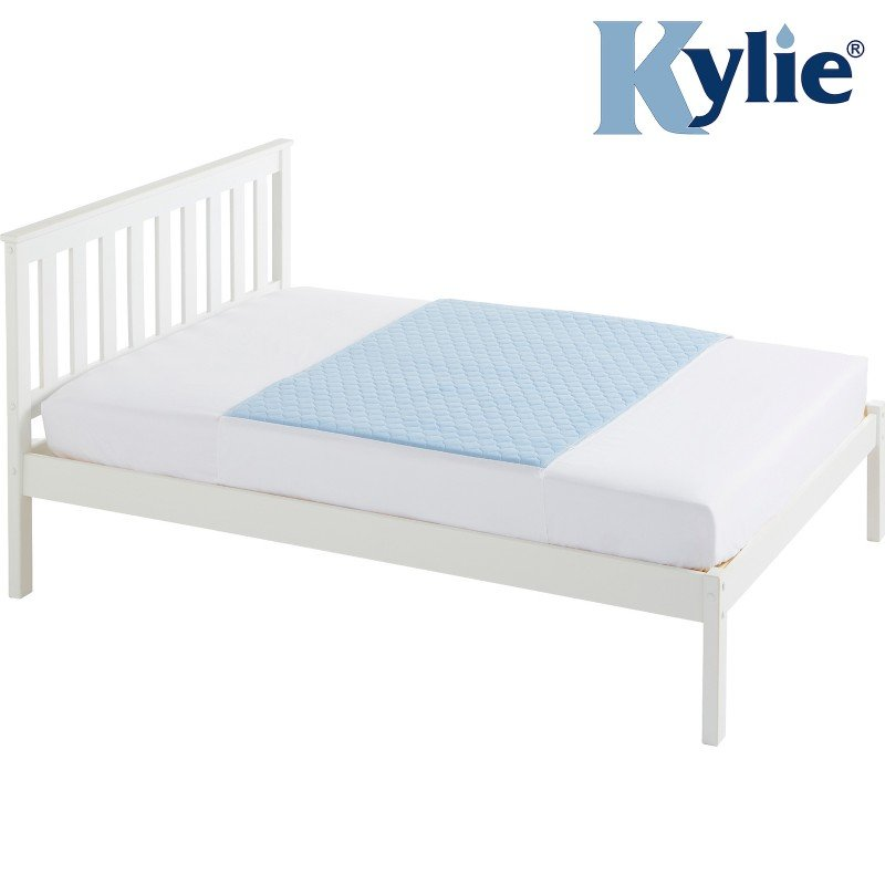 Kylie® Bed Pad | 4 Litre | Double Bed | Blue