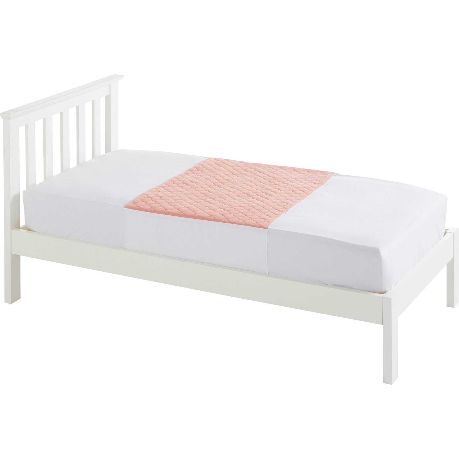 Single Bed 91x74cm Pink