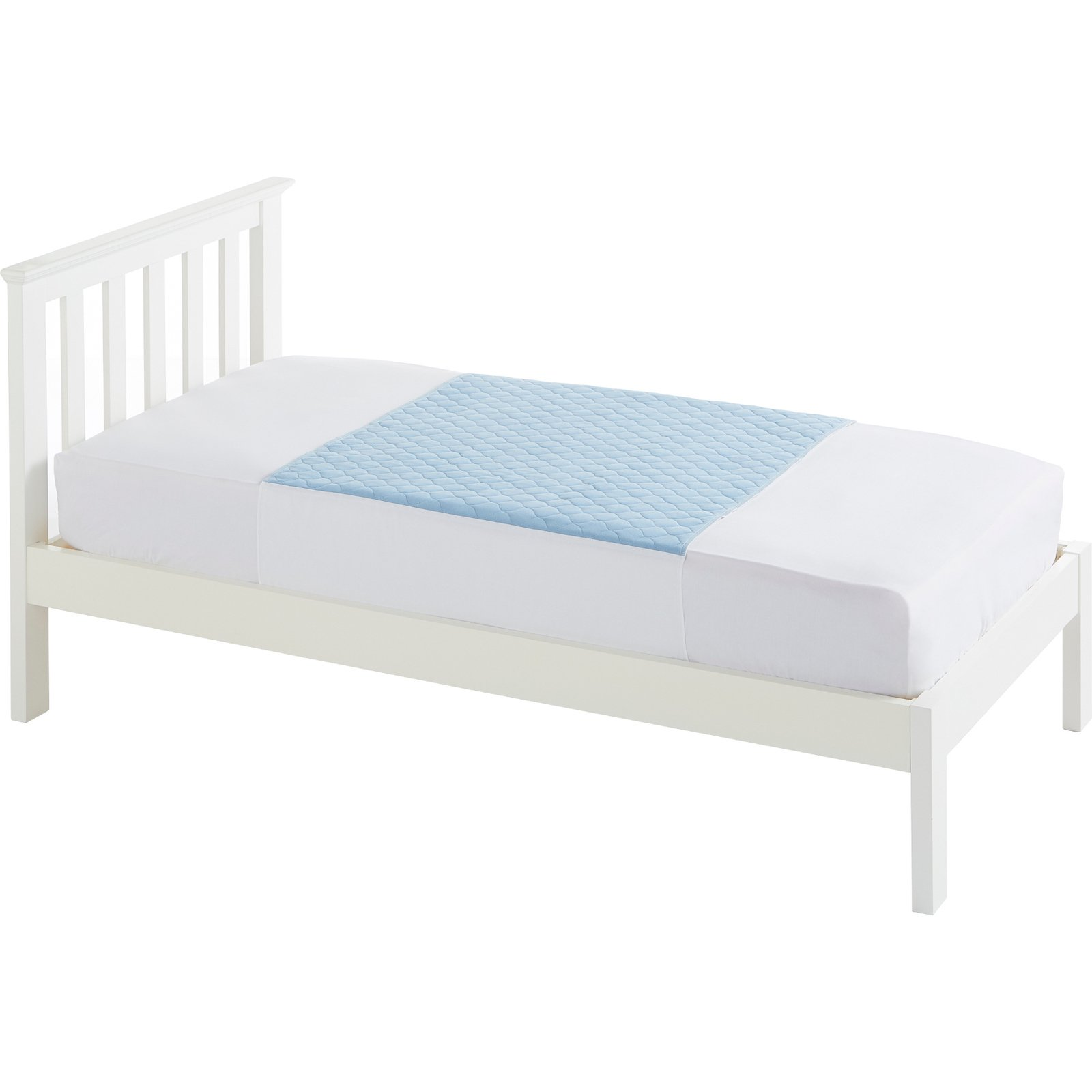 Single Bed 91x91cm Blue
