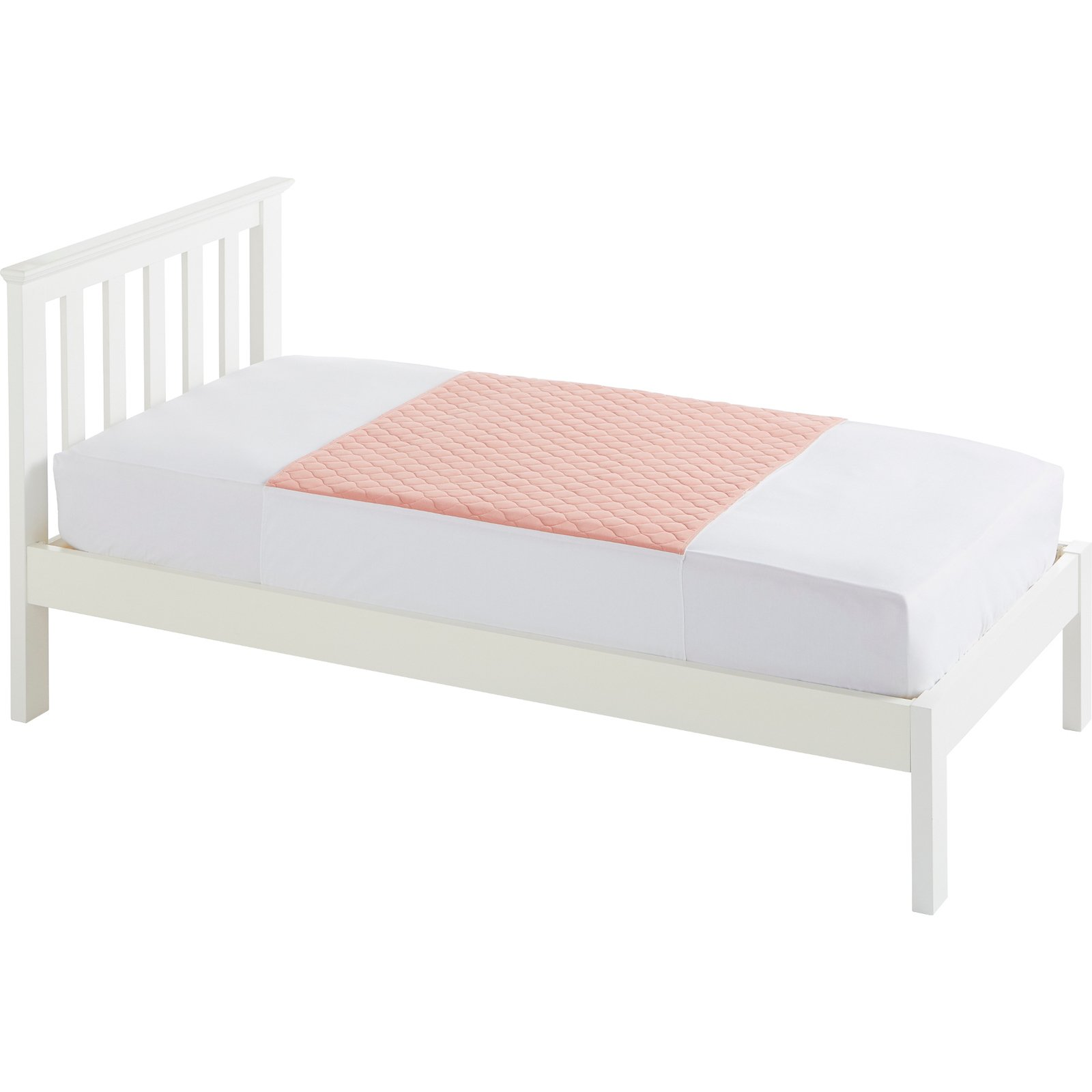 Single Bed 91x91cm Pink