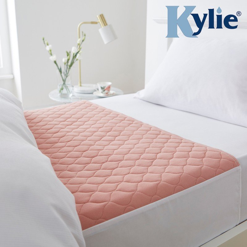 Kylie® Bed Pad | 2 Litre | Single Bed | Pink