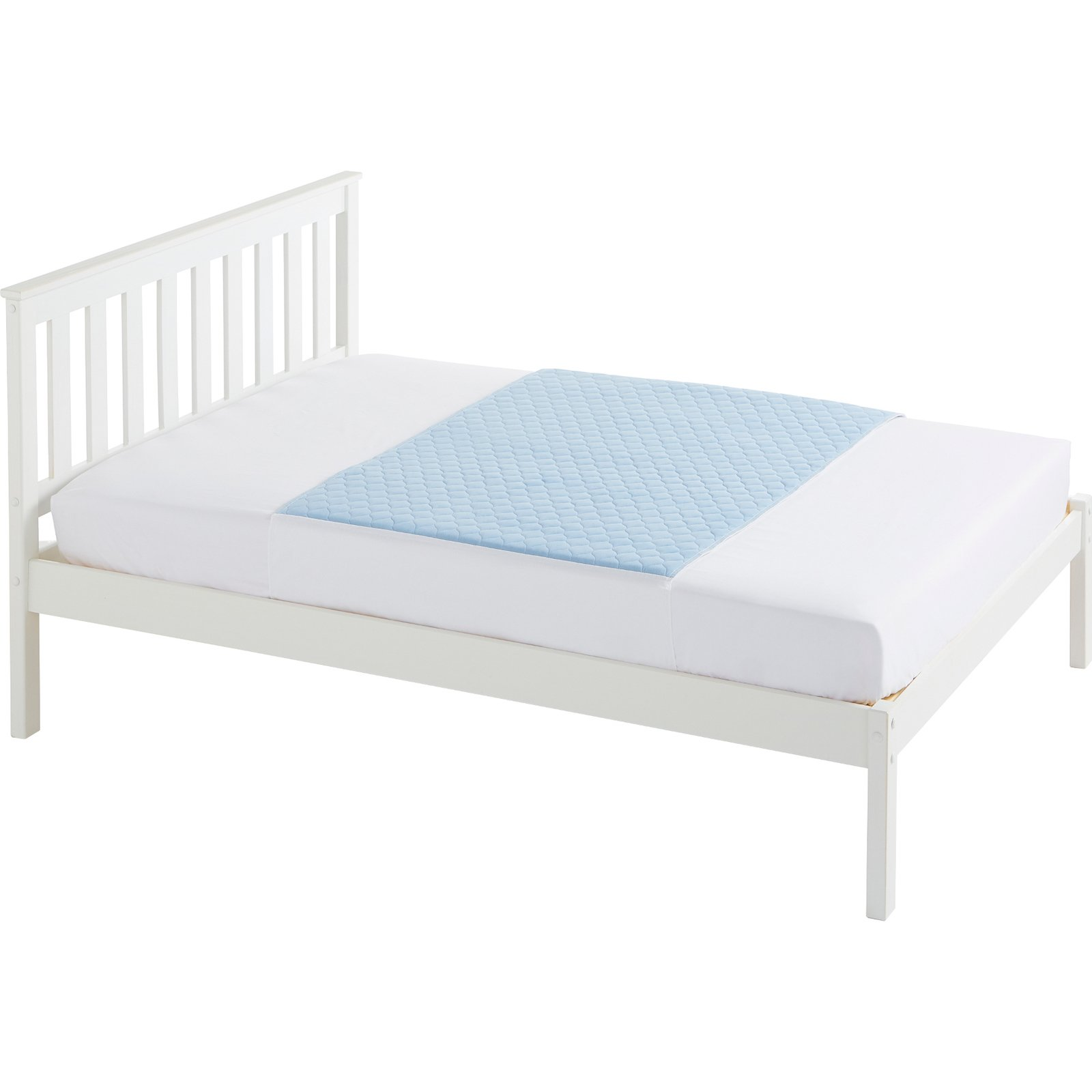Double Bed 139x91cm Blue