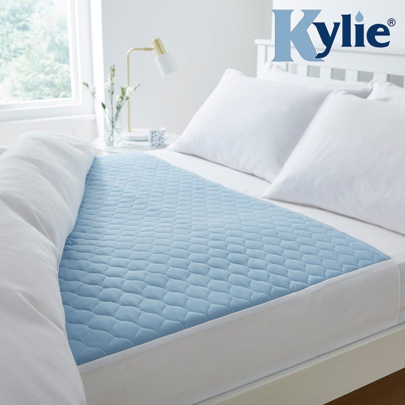 Kylie® Bed Pad | 5 Litre | King Size Bed | Blue