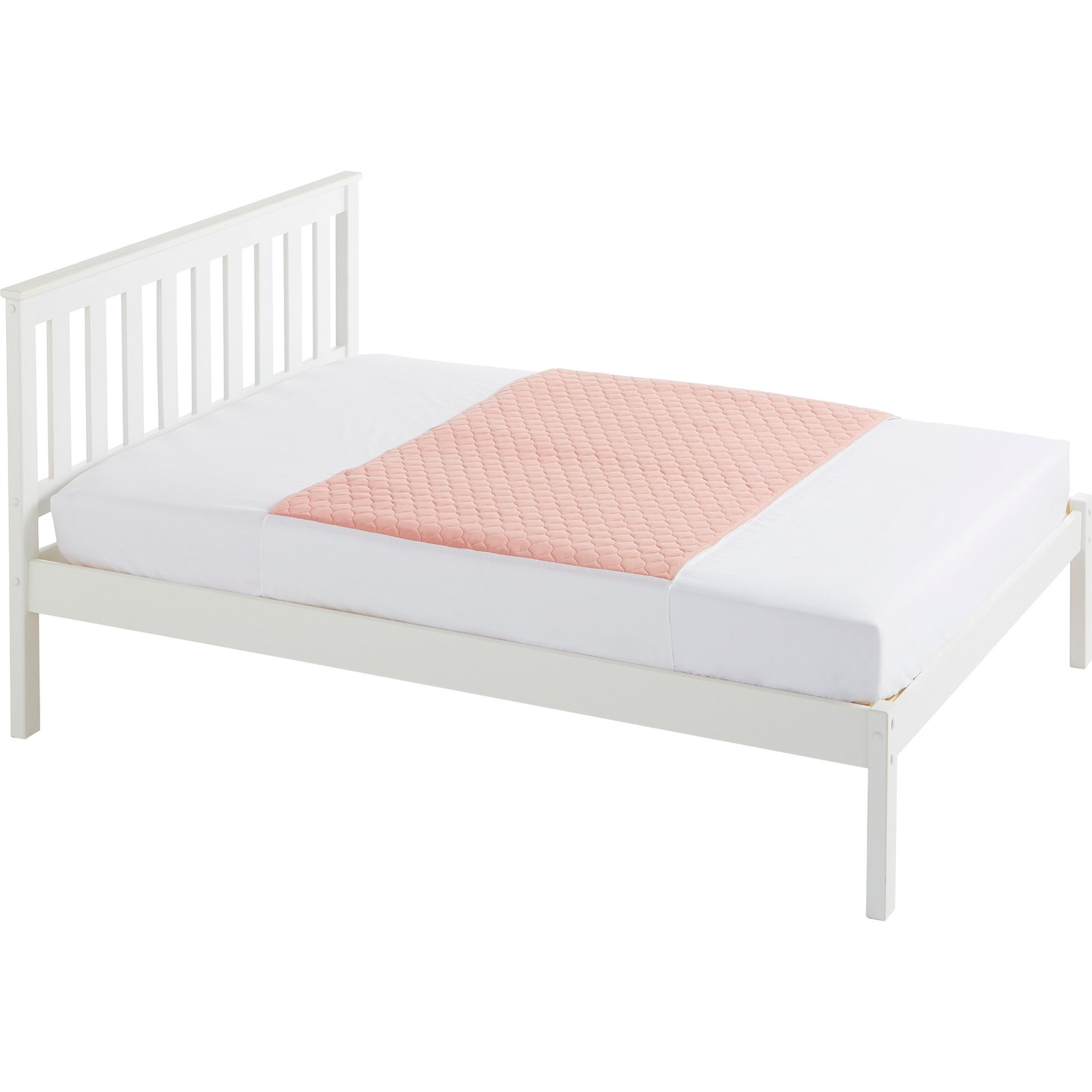Double Bed 139x91cm Pink