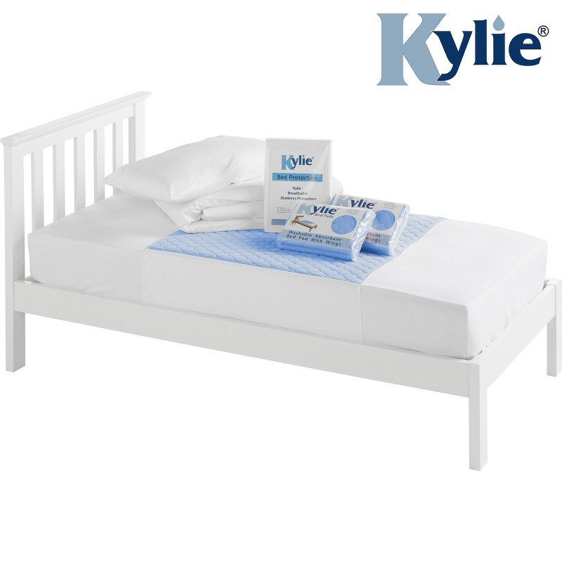 Kylie® Bedding Protection Bundle | Single | Blue