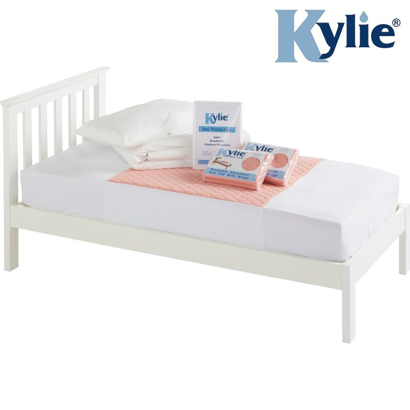 Kylie® Bedding Protection Bundle | Single | Pink
