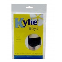 Kylie® Boys | Black | Large | Age 8-9 Years