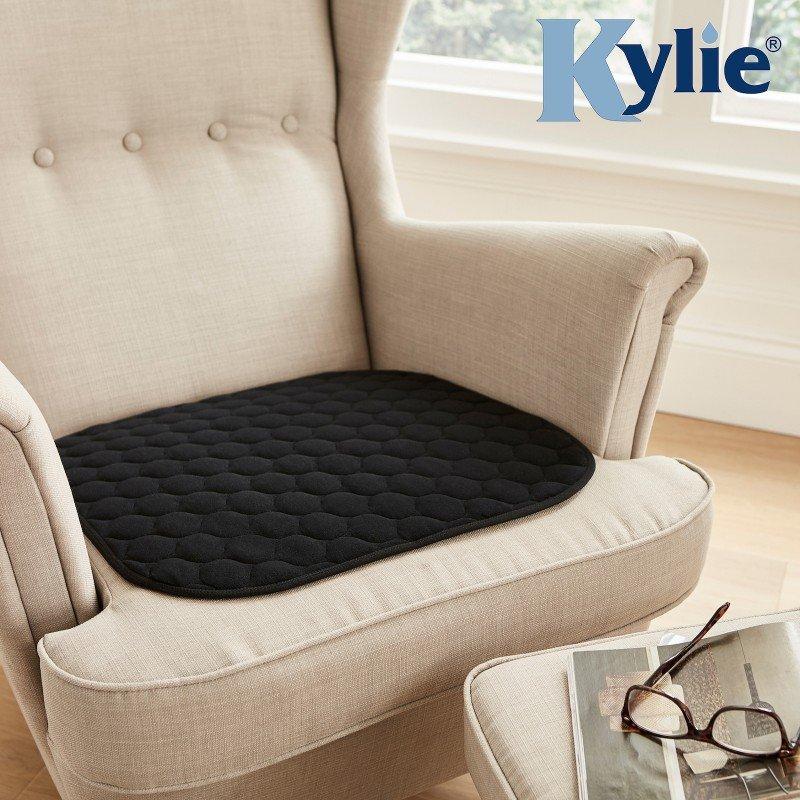 Kylie® Chair Pad   Black   1 Litre   50 x 50cm