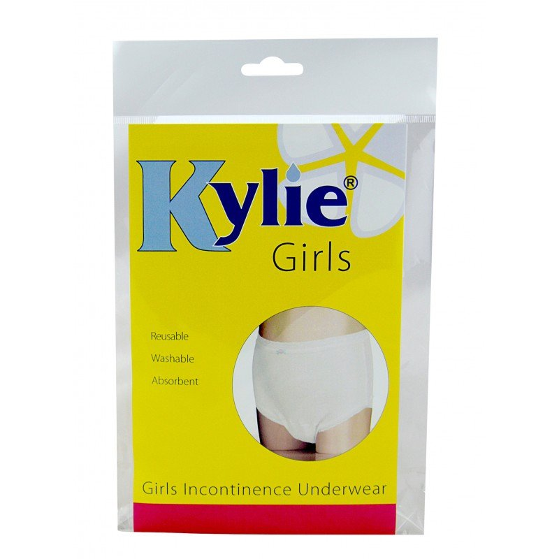 Kylie® Girls | White | Large | Age 8-9 Years