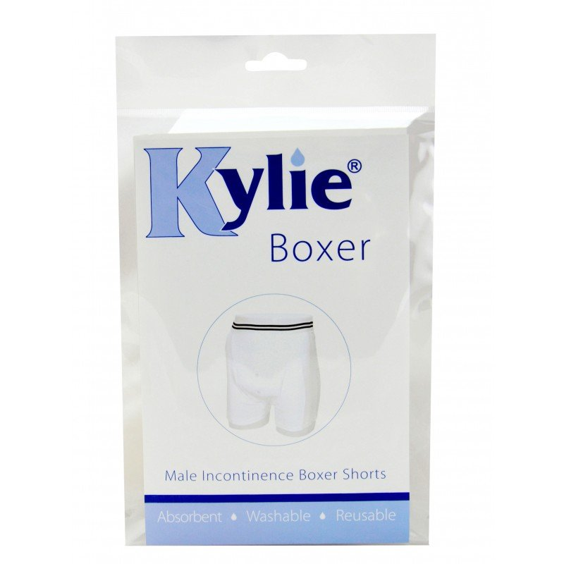 Kylie® Boxer | White | Medium
